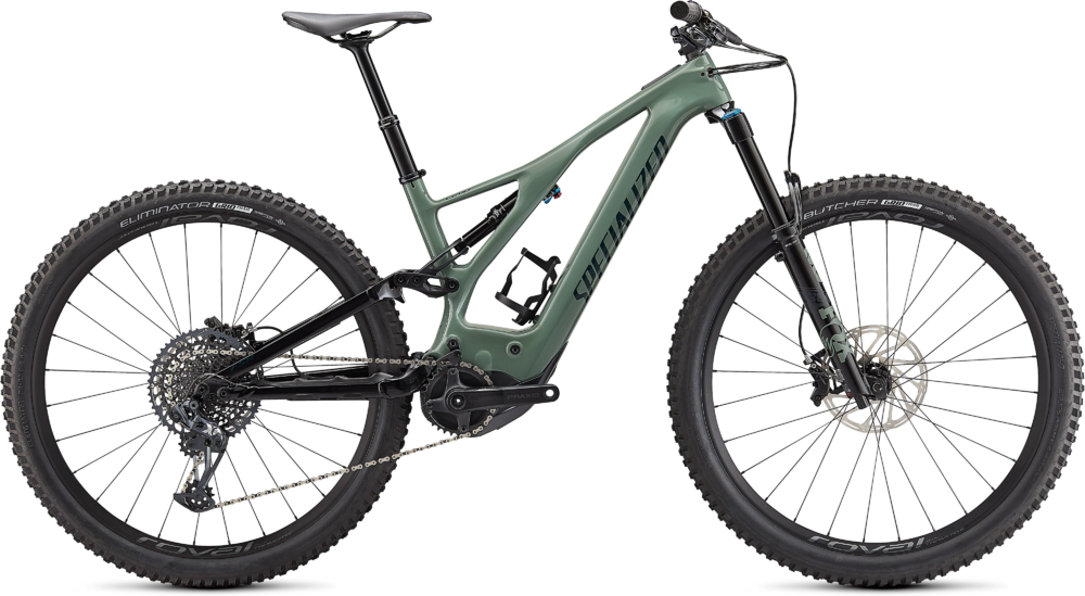 Specialized Turbo Levo Expert Carbon Sage Green / Forest Green M